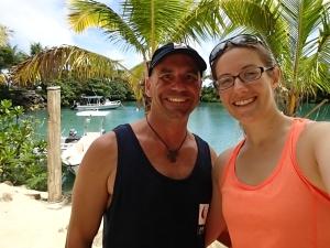 Reunited in Fiji.